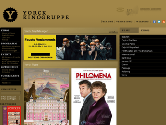 yorck.de website preview