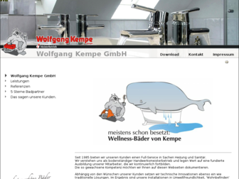 kempe-gmbh.de website preview