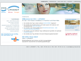 zieg-liphardt.de website preview