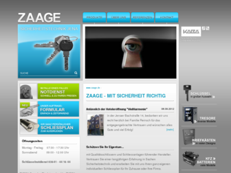 zaage.de website preview
