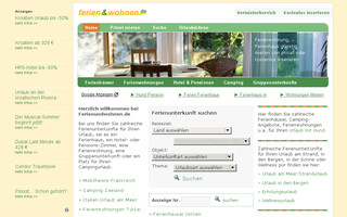 ferienundwohnen.de website preview