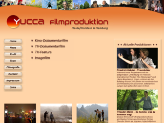 yucca-filmproduktion.de website preview