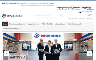 topsicherheit.de website preview