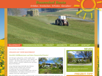 bauernhof-beste.de website preview