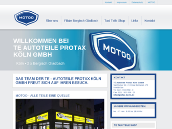 protax-koeln.de website preview