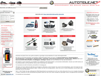 autoteile.net website preview