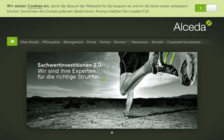 alceda.de website preview