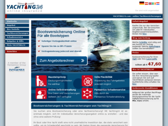 yachting24.de website preview