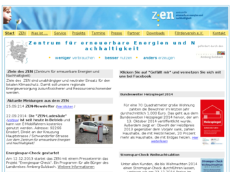 zen-ensdorf.de website preview