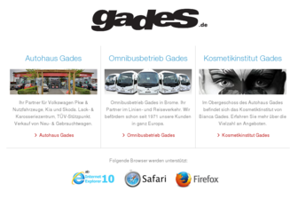 gades.de website preview