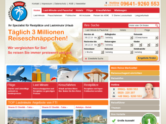 restplatzshop.de website preview