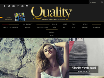 quality-magazine.ch website preview