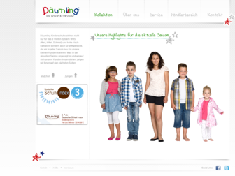 daeumling-kinderschuhe.de website preview