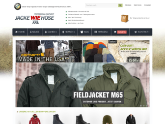 jackewiehose-xxl.de website preview