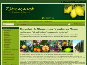 zitronenlust.de website preview