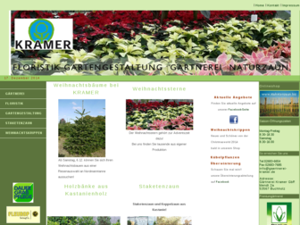 gaertnerei-kramer.de website preview