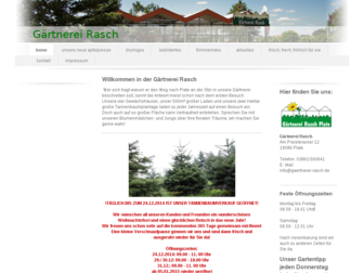 gaertnerei-rasch.de website preview