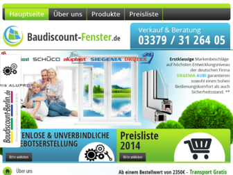 baudiscount-fenster.de website preview