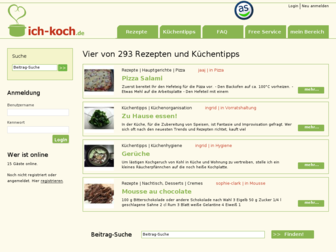 ich-koch.de website preview