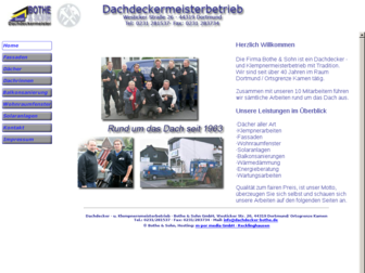 dachdecker-bothe.de website preview