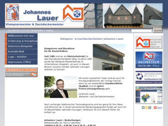 dachdecker-lauer.de website preview
