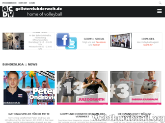 geilsterclubderwelt.de website preview