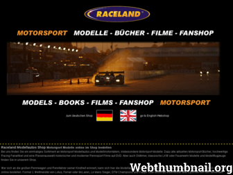 raceland.de website preview