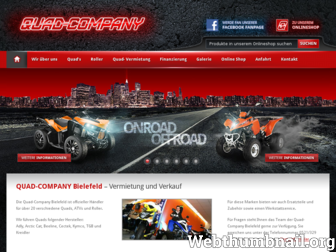 quad-company-bielefeld.de website preview