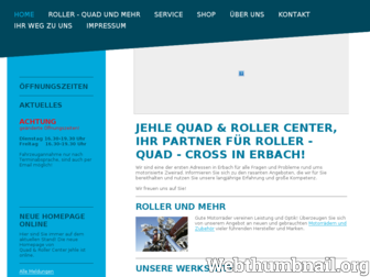 quad-roller-center-erbach.de website preview