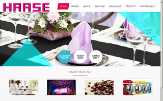 haase-neustadt.de website preview