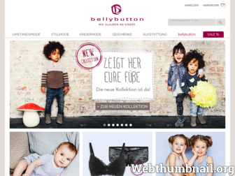 bellybutton.de website preview