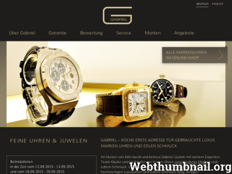 g-abriel.de website preview