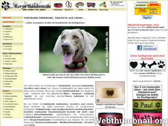 hundemode.de website preview