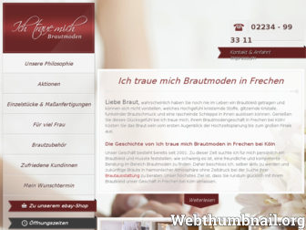 ich-traue-mich.de website preview