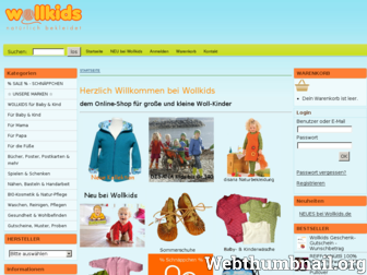 wollkids.de website preview