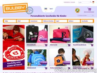 bulbby.de website preview