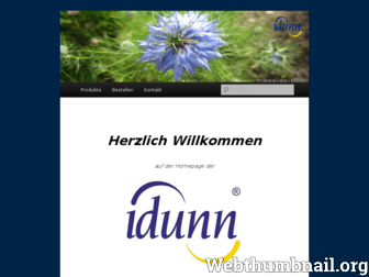 idunn.de website preview