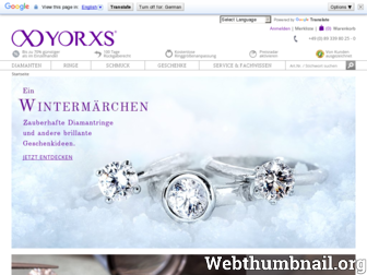 yorxs.de website preview