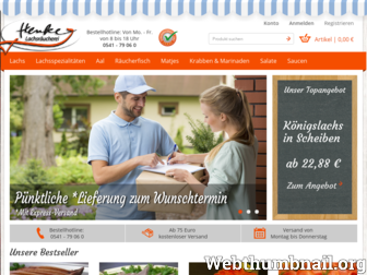 lachs-henke.de website preview
