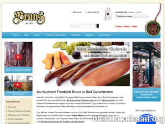 aal-bruns.de website preview