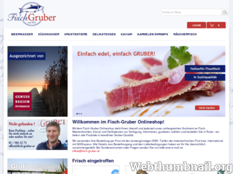 shop.fisch-gruber.at website preview