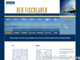 derfischladen.com website preview