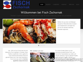 fisch-zschornak.de website preview