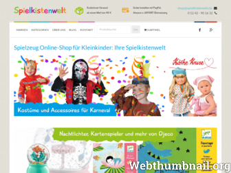 spielkistenwelt.de website preview