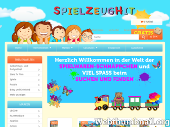 spielzeughit.de website preview