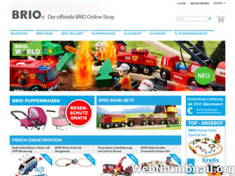 brio-shop.de website preview