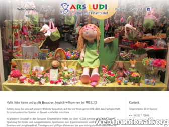 ars-ludi.de website preview