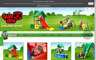 quadroshop.de website preview