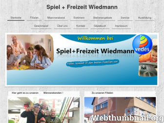 spielwaren-wiedmann.de website preview