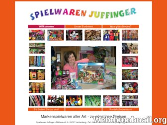 spielwaren-juffinger.de website preview